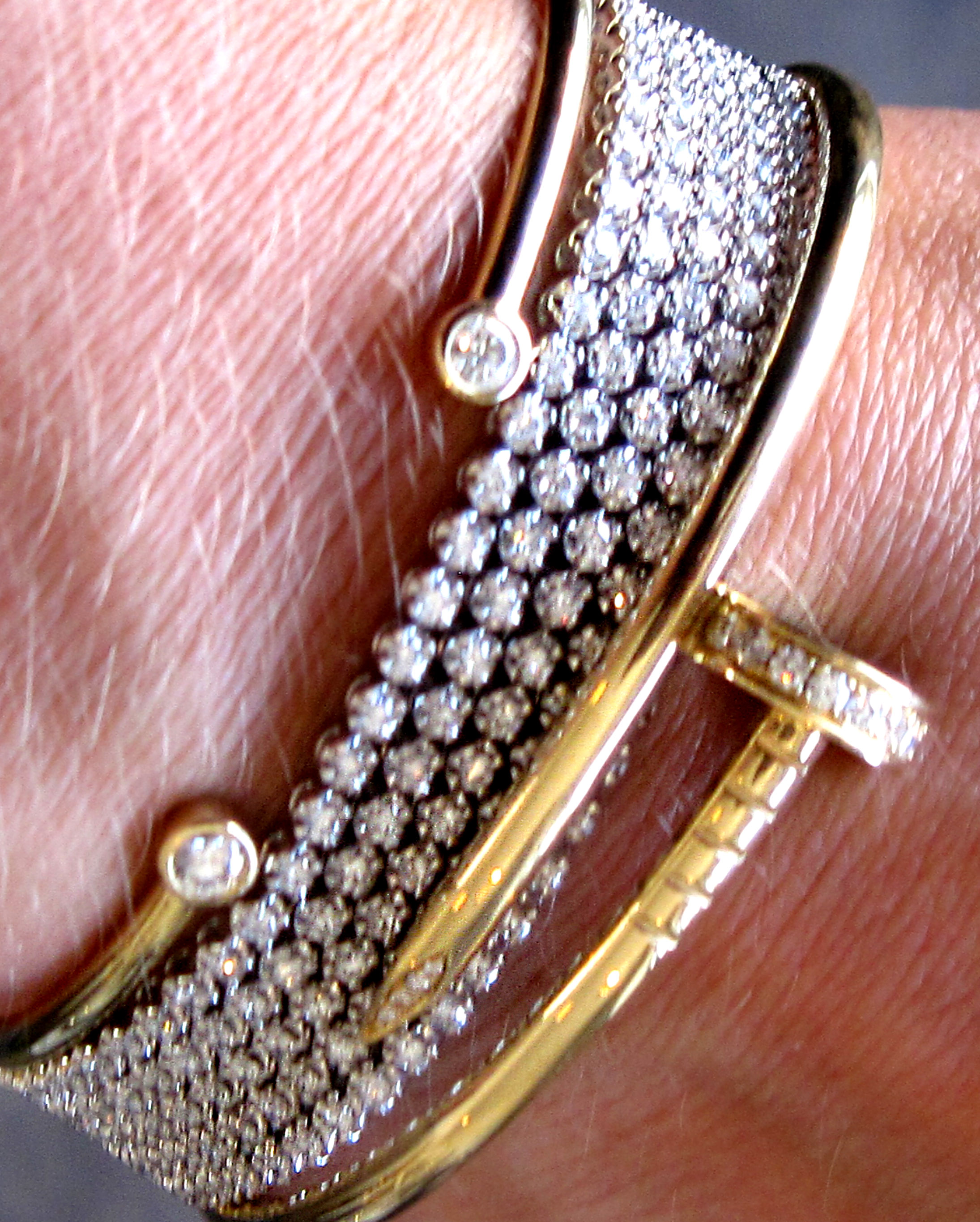 unique fine get the diamond pin bangles bracelets gorgeous stackable look bangle