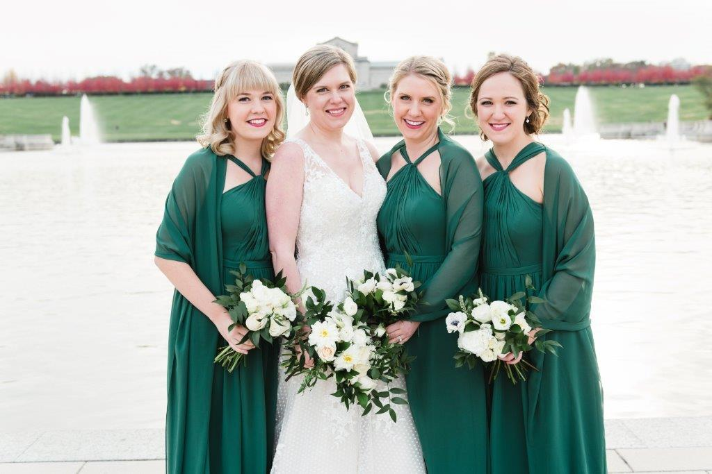 Once You Ve Selected The Perfect Bridal Jewelry For Your Wedding Day See Part 1 Of This Blog Don T Forget To Consider Bridesmaids